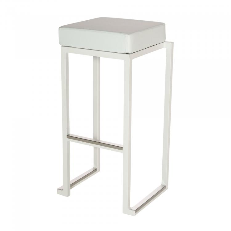 Kubo Smart Bar Alu - White - Faux-Leather White