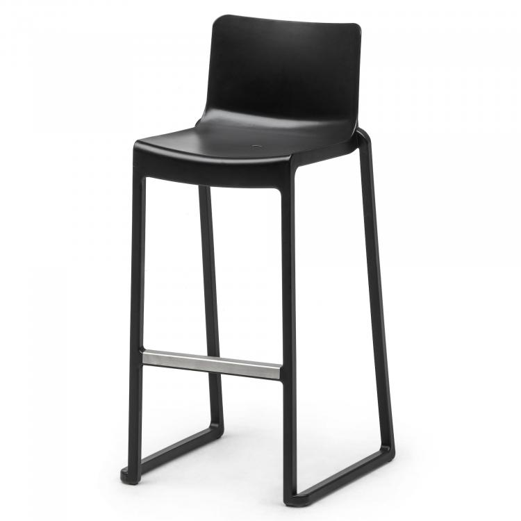 Footrest on Kasar Bar - Black