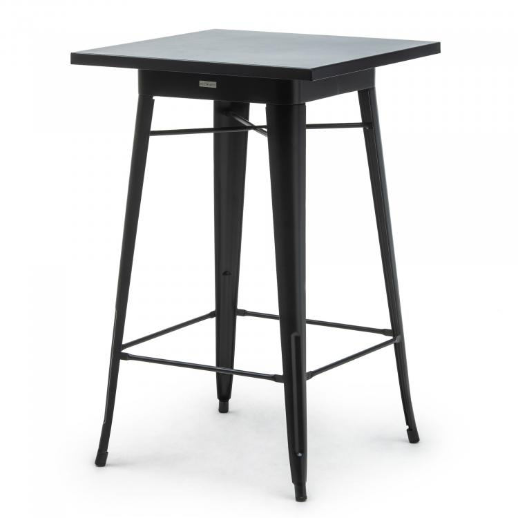 Party Table - Tolix Style Party - Black steel