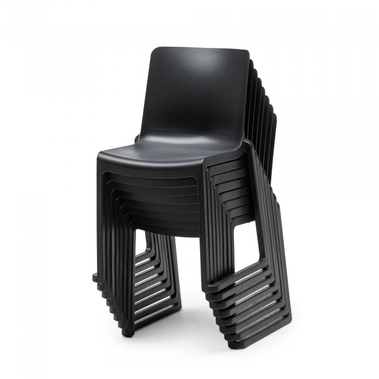 Kasar Chair - Black - Stacked