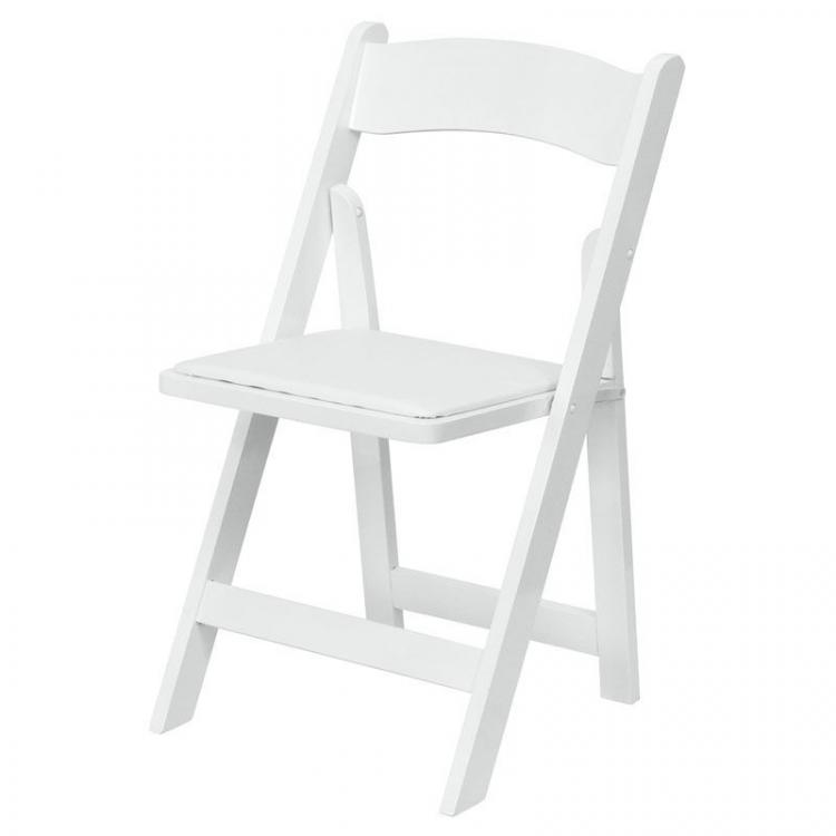 Folding Chair - Wimbledon - White