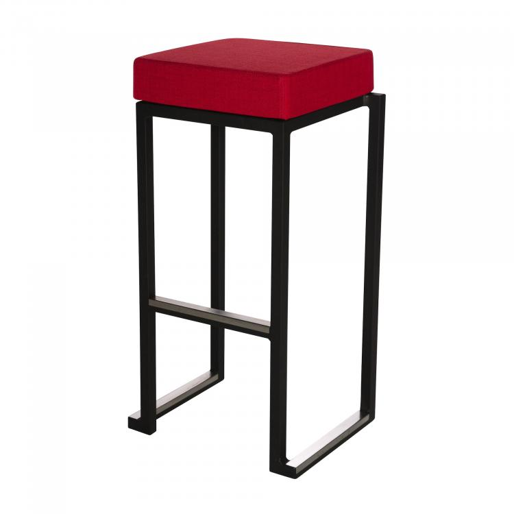 Kubo Smart Bar Alu - Black - Linen Red