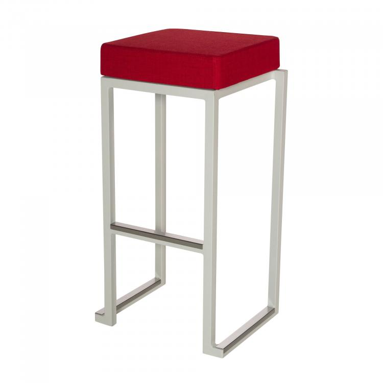 Kubo Smart Bar Alu - White - Linen Red