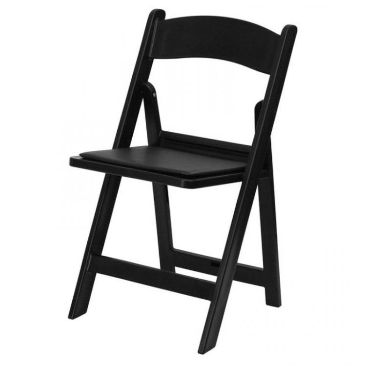 Folding Chair - Wimbledon - Black
