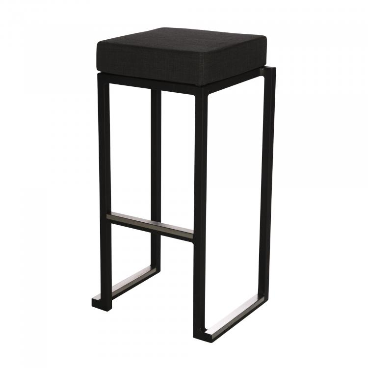 Kubo Smart Bar Alu - Black - Linen Anthracite
