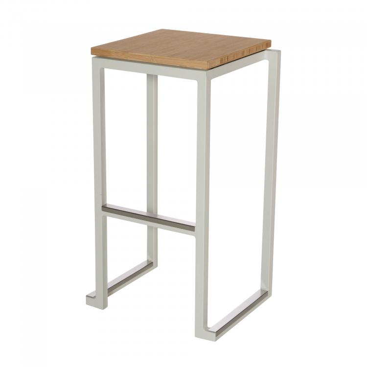 Kubo Smart Bar Alu - White - Bamboo