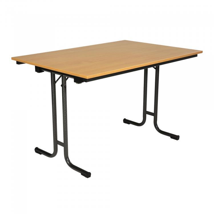 T-Table 1280 - Hammerscale - Beech