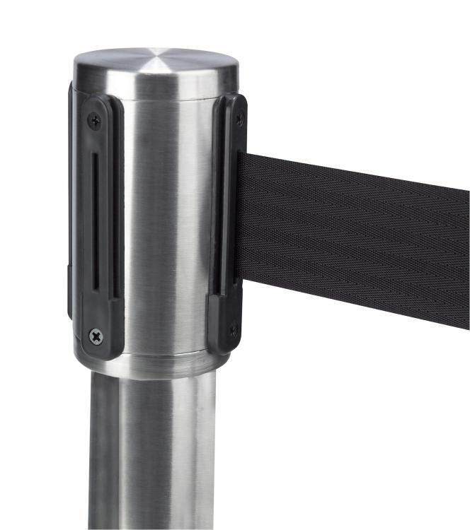 Barrier Post - Flair - Brushed Stainless Steel - Detail