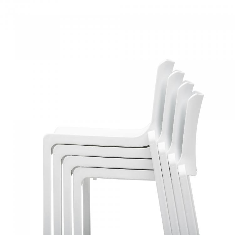 Barstool - Kasar Bar - White - Stacked - Detail