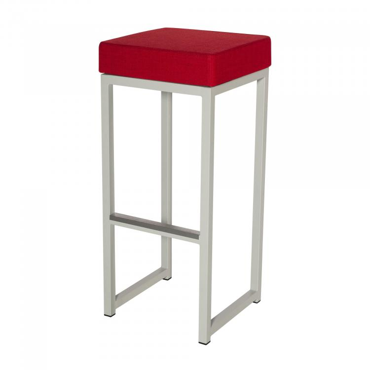 Kubo Bar - White - Linen Red