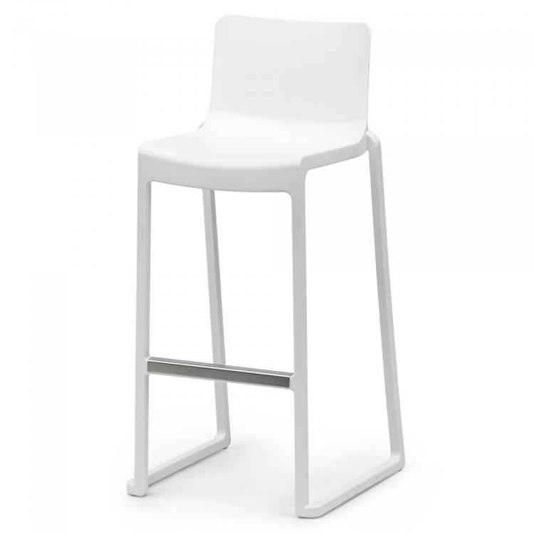Footrest on Kasar Bar - White