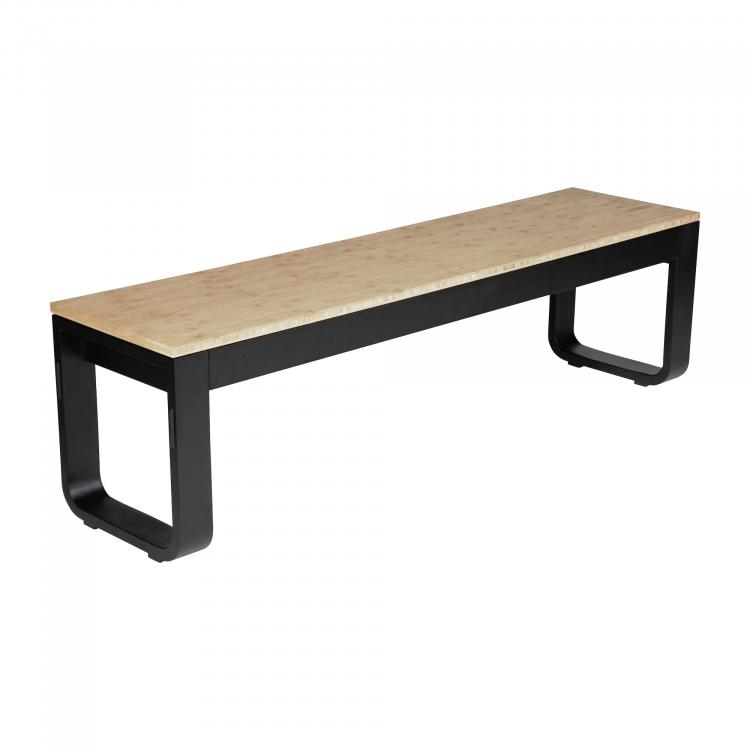 Flow Bench Black - Bamboo.