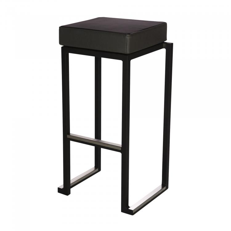 Kubo Smart Bar Alu - Black - Faux-Leahter Black